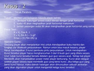 Kasus - 2