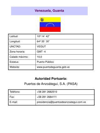 Venezuela, Guanta