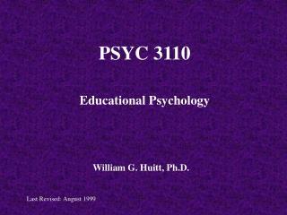 PSYC 3110