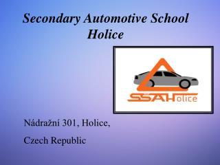 Secondary Automotive School Holice