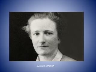 Susanne MASSON