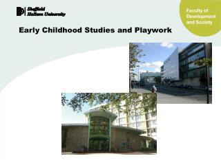 Early Childhood Studies and Playwork