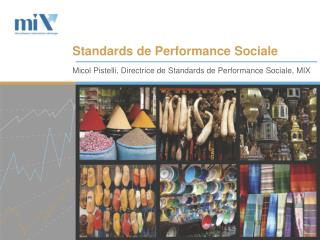 Standards de Performance Sociale