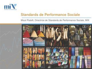 Standards de Performance Sociale