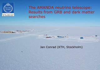 The AMANDA neutrino telescope: Results from GRB and dark matter searches