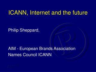 ICANN, Internet and the future
