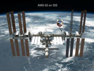 AMS-02 on ISS, as at present