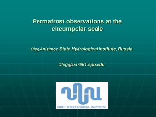 Permafrost observations at the circumpolar scale