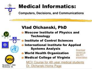 Medical Informatics:
