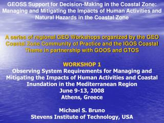 GEO Coastal Zone Community of Practice (CZCP), 2006.