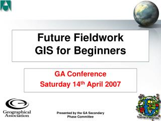Future Fieldwork GIS for Beginners