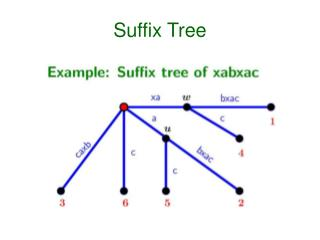 Suffix Tree