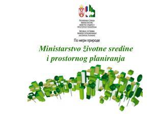 Ministarstvo životne sredine i prostornog planiranja