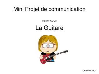 Mini Projet de communication