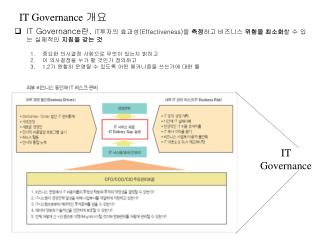 IT Governance  개요