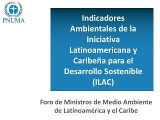 Foro de Ministros de Medio Ambiente de Latinoamérica y el Caribe