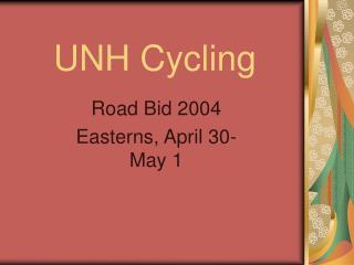 UNH Cycling