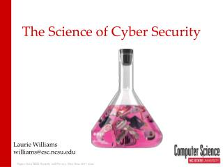 The Science of Cyber Security