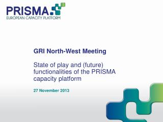 GRI North-West Meeting