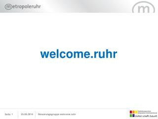 welcome.ruhr