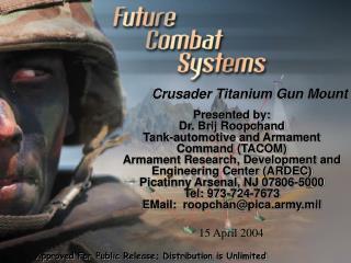 Crusader Titanium Gun Mount