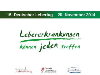 15. Deutscher Lebertag