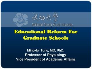 Educational Reform For Graduate Schools