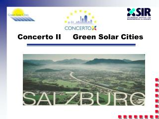 Concerto II     Green Solar Cities
