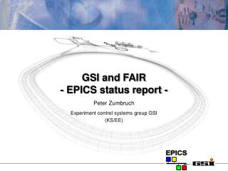 GSI and FAIR - EPICS status report -