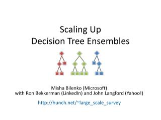 Scaling Up  Decision Tree Ensembles