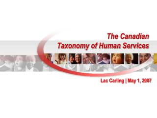 The Canadian Taxonomy of Human Services