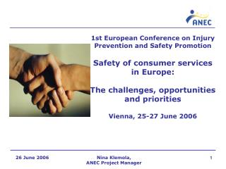 1st European Conference on Injury Prevention and Safety Promotion