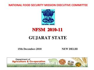 NATIONAL FOOD SECURITY MISSION EXECUTIVE COMMITTEE
