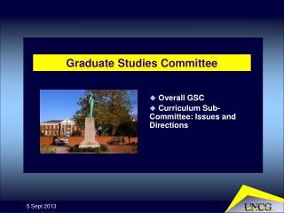 Graduate Studies Committee