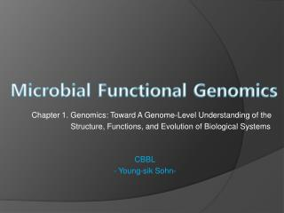 Microbial Functional Genomics
