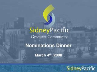 Nominations Dinner