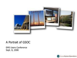 A Portrait of GSOC