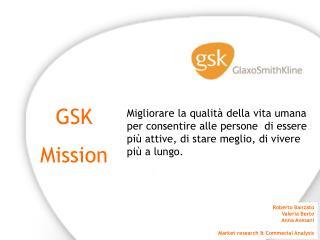 GSK Mission