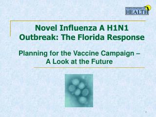 Novel Influenza A H1N1  Outbreak: The Florida Response