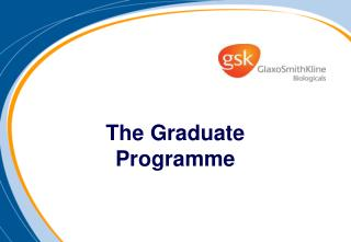The Graduate Programme