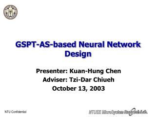 GSPT-AS-based Neural Network Design