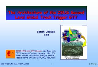 The Architecture of the ZEUS Second Level Global Track Trigger GTT