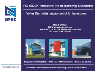 IPEC GROUP - International Project Engineering & Consulting