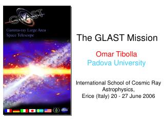 The GLAST Mission
