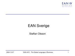 EAN Sverige