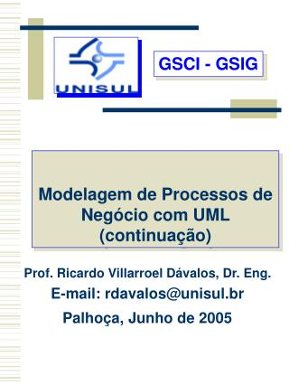 GSCI - GSIG