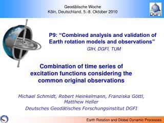Geodätische Woche  Köln, Deutschland, 5.-8. Oktober 2010