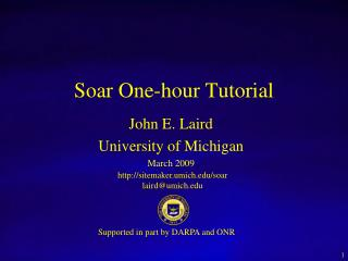 Soar One-hour Tutorial
