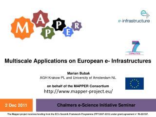 Chalmers e-Science Initiative Seminar