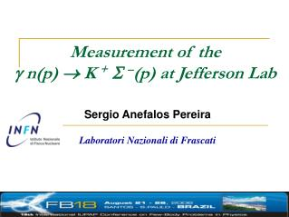 Measurement of the    n(p)    K  +    (p) at Jefferson Lab